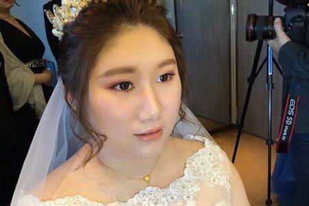 Nina makeup新秘妮娜-棉花糖女孩晚宴
