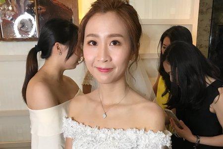 Nina makeup新秘妮娜-Cindy 西式證婚晚宴