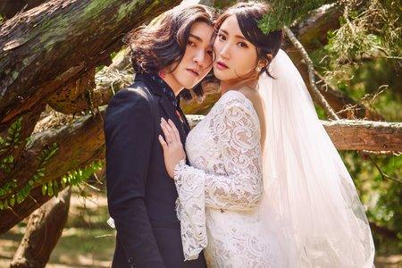 Nina makeup新秘妮娜-電影風格婚紗造型
