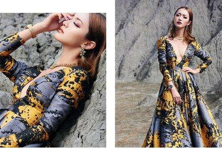 Nina makeup新秘妮娜-時尚雜誌婚紗造型