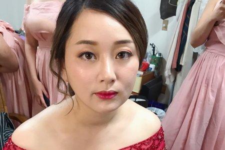 Nina Makeup彩妝造型-Lea文定迎娶儀式
