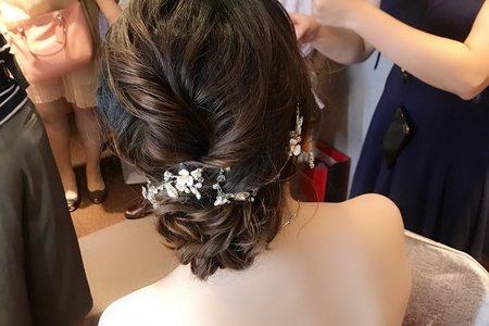 Nina Makeup彩妝造型-Liyu婚宴造型