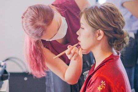 Nina Makeup彩妝造型-小波訂結婚儀式+午宴