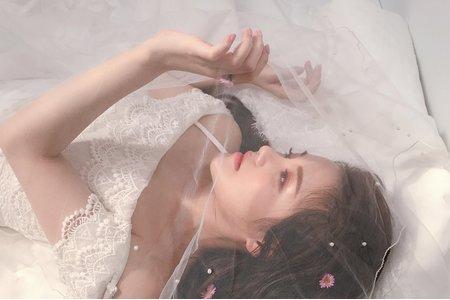 Nina Makeup彩妝造型-空靈女孩寫真造型