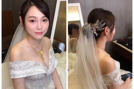 Nina Makeup彩妝造型-菀晴嘉義四造型