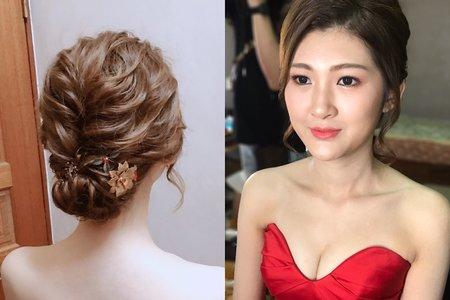 Nina Makeup彩妝造型-沛晴文定造型&家妤宴客造型