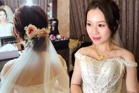 Nina Makeup彩妝造型-Nancy結婚3造型
