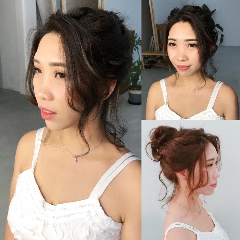 精緻客製化妝髮造型作品