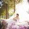 希臘婚禮 婚紗 攝影 手工婚紗禮服 超美(編號:377085)