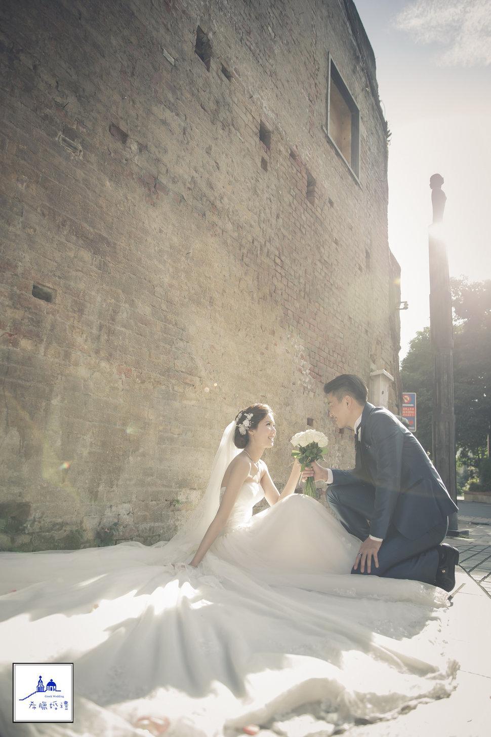 希臘婚禮新人分享~亮&菁(編號:428114) - 希臘婚禮  婚紗  攝影 - 結婚吧一站式婚禮服務平台
