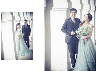 希臘婚禮新人分享♡恩&慈