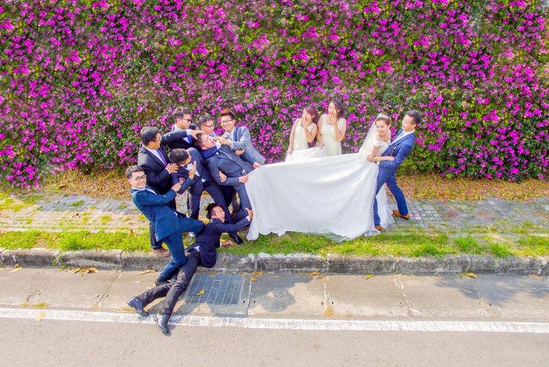 婚禮紀錄(平面拍照)作品