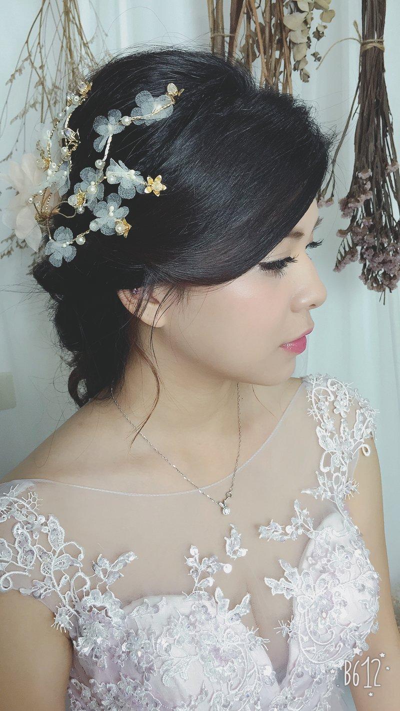 小資女美麗專案:儀式+晚宴新娘秘書作品