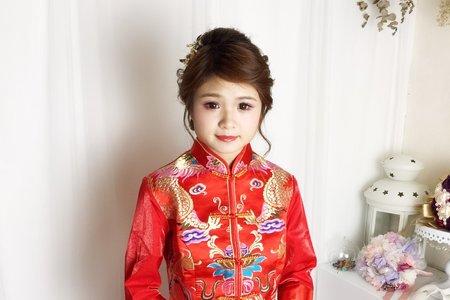 中式龍鳳掛古典造型