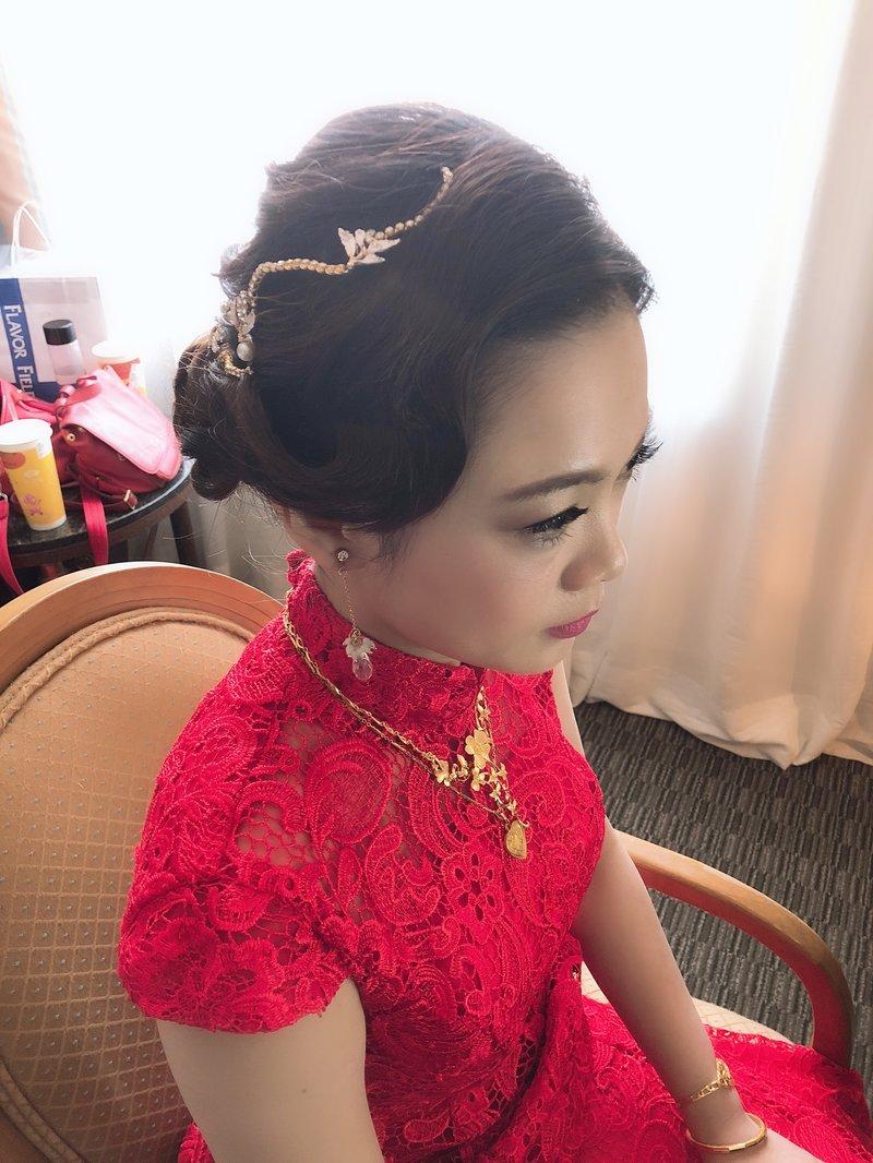 小資族美麗專案:儀式+午宴新娘秘書作品