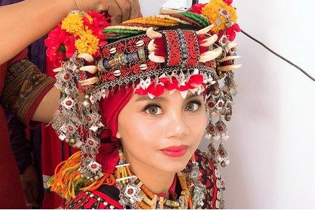 獅子鄉排灣族訂婚儀式