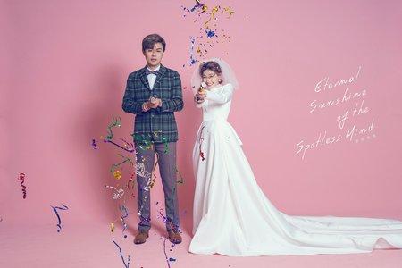 台南婚紗 韓系簡約婚紗