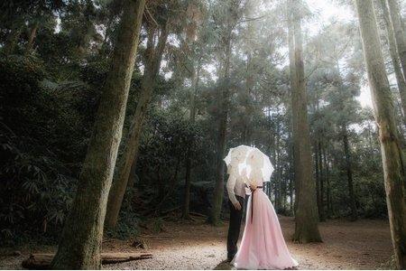 【自助婚紗】健壹+靖芙@陽明山黑森林