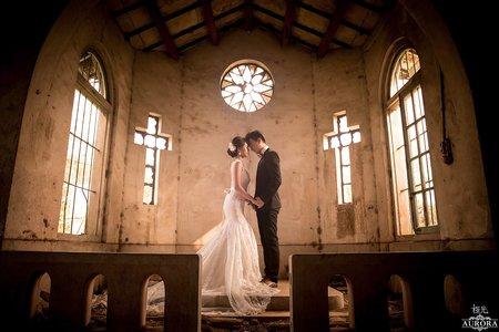 婚紗|廢棄天主堂