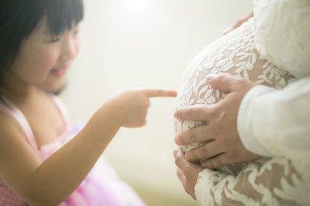 孕婦照|棚拍