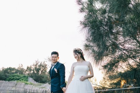 美式自助婚紗