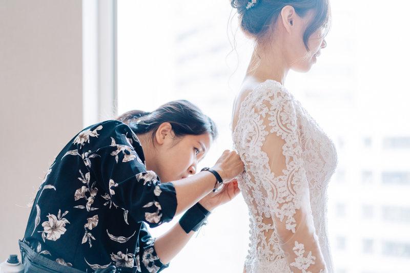 婚禮紀錄平面攝影作品