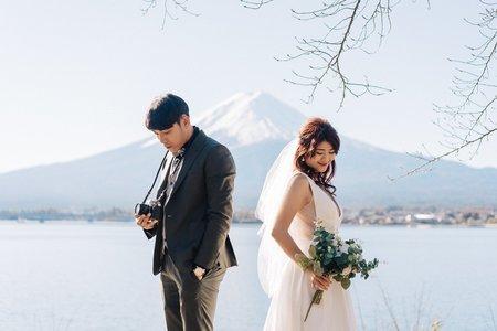 海外婚紗-富士山