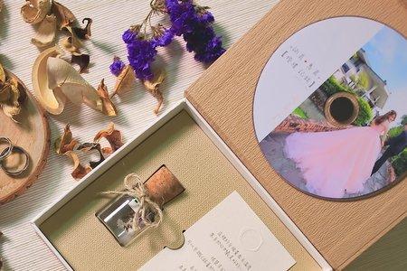婚禮成品-大地香草盒子