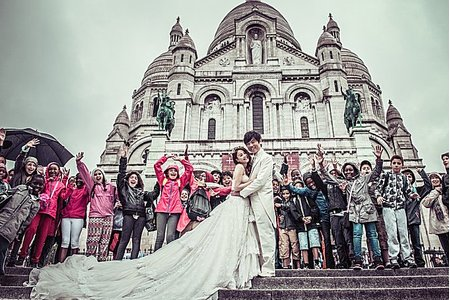 【經典法國】海外拍婚紗-法國巴黎、羅浮宮、巴黎鐵塔、城堡、愛情鎖