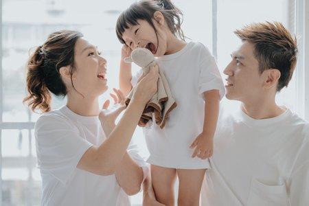 【韓式溫馨】全家福-獨家攝影棚