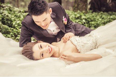 【韓系仙氣】拍婚紗-陽明山黑森林