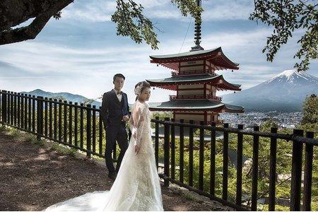 日本海外婚紗-富士山