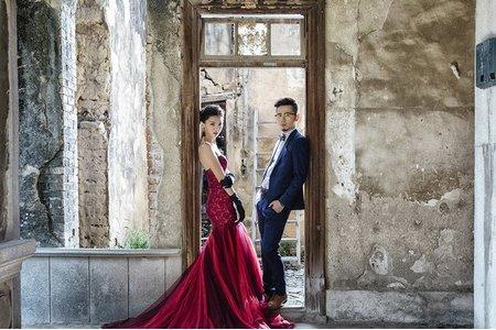 復古風婚紗