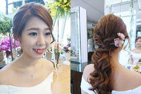 新娘妝髮參考