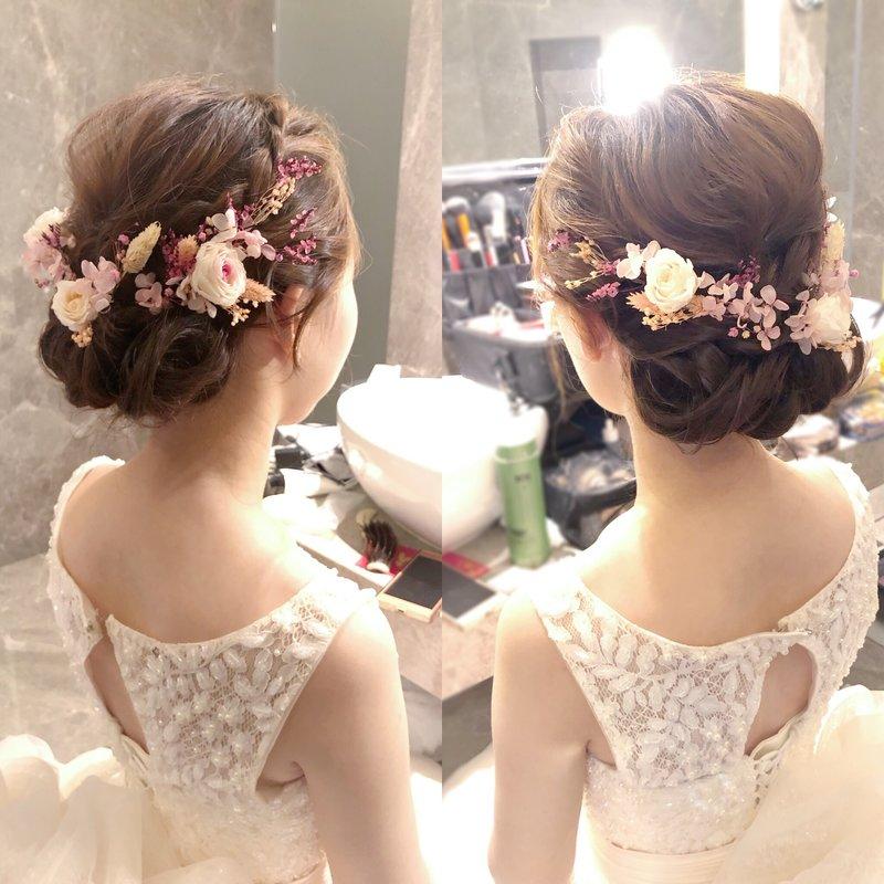 新娘婚禮造型(二~四造型)作品