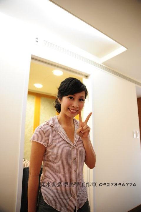 jenny試妝(編號:433371) - 漾水喬造型美學工作室(台南新娘秘書) - 結婚吧
