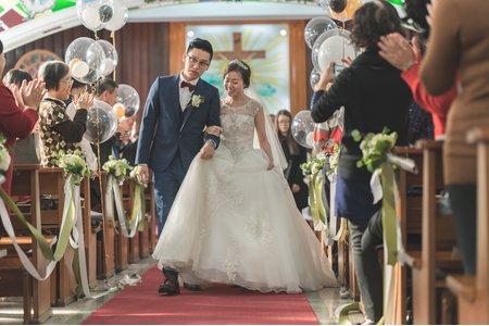 【婚禮紀實攝影】教會婚禮儀式