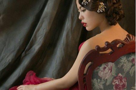 婚紗造型(貝貝)