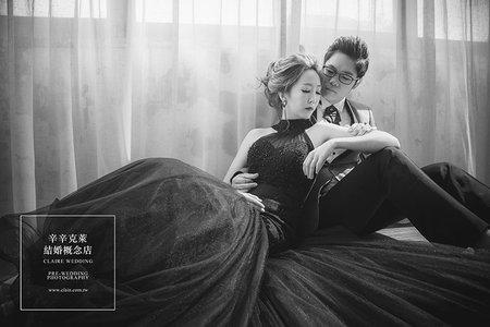 【早安婚紗攝影棚】法式淡雅與工業唯美的結合