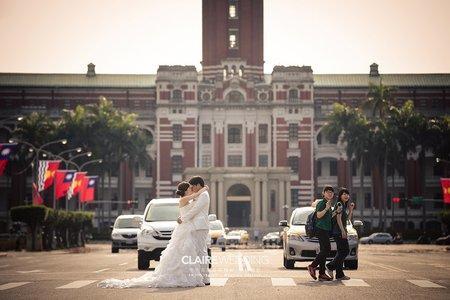 台北街景婚紗照