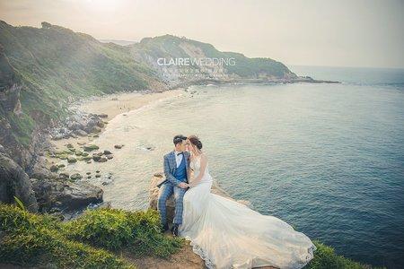 讓人驚豔的海景婚紗照