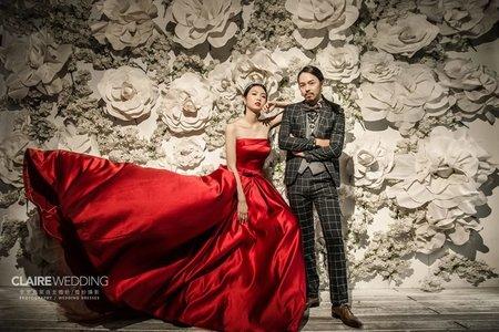 攝影基地|英式婚紗禮服