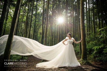 【夢幻自然森林系婚紗】