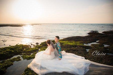 三芝海灘浪漫婚紗照