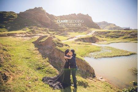 美式婚紗大峽谷~林口水牛坑婚紗照