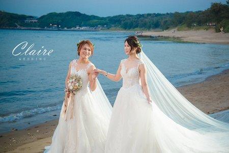【辛辛克萊】慈&豪 同性婚紗照💙