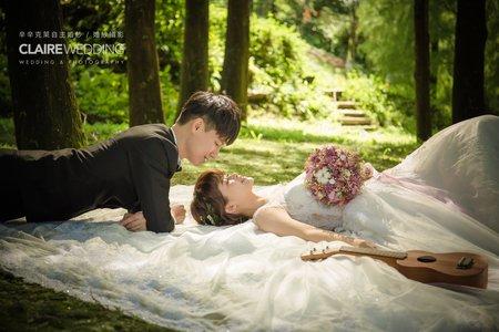 【辛辛克萊】真愛桃花源 婚紗基地|再美,也可以一起變老