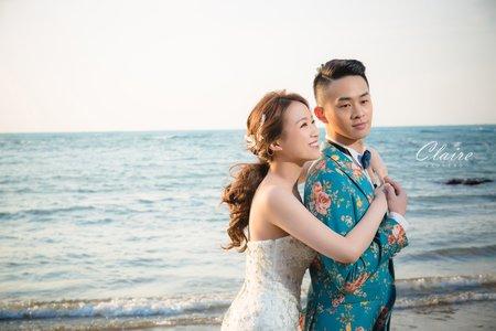 【辛辛克萊】三芝海灘浪漫婚紗照