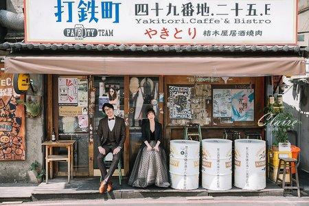 【辛辛克萊】台北街頭風婚紗 x 美式清新 | 個性
