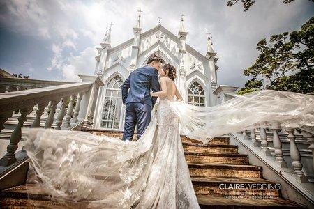 【辛辛克萊】白色教堂 x 婚紗基地